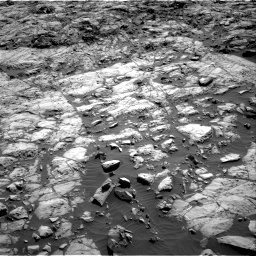 Nasa's Mars rover Curiosity acquired this image using its Right Navigation Camera on Sol 1173, at drive 670, site number 51