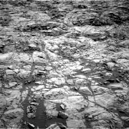 Nasa's Mars rover Curiosity acquired this image using its Right Navigation Camera on Sol 1173, at drive 688, site number 51