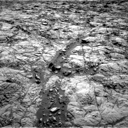 Nasa's Mars rover Curiosity acquired this image using its Right Navigation Camera on Sol 1173, at drive 718, site number 51