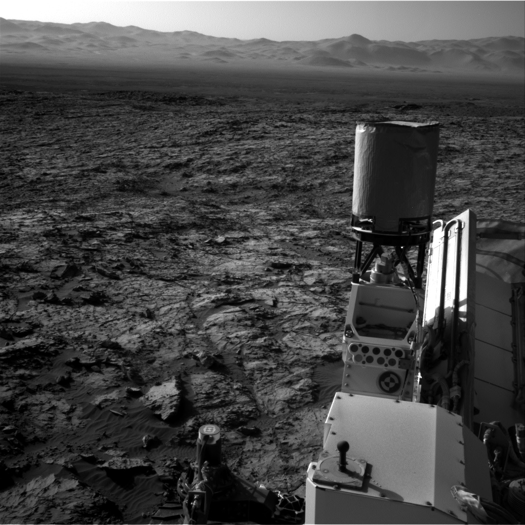 Nasa's Mars rover Curiosity acquired this image using its Right Navigation Camera on Sol 1173, at drive 874, site number 51