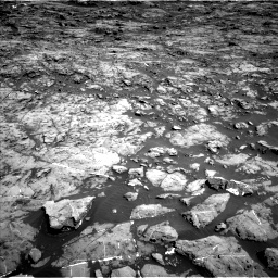 Nasa's Mars rover Curiosity acquired this image using its Left Navigation Camera on Sol 1174, at drive 940, site number 51