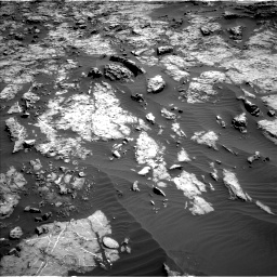 Nasa's Mars rover Curiosity acquired this image using its Left Navigation Camera on Sol 1174, at drive 958, site number 51