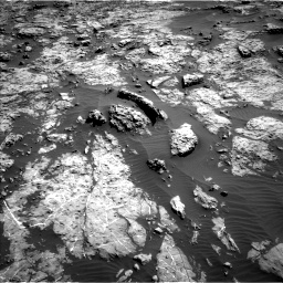 Nasa's Mars rover Curiosity acquired this image using its Left Navigation Camera on Sol 1174, at drive 970, site number 51