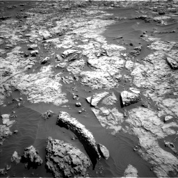Nasa's Mars rover Curiosity acquired this image using its Left Navigation Camera on Sol 1174, at drive 982, site number 51
