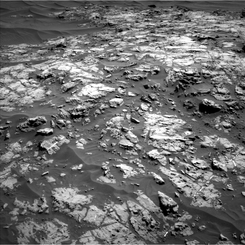 Nasa's Mars rover Curiosity acquired this image using its Left Navigation Camera on Sol 1174, at drive 1048, site number 51