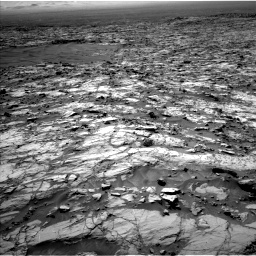 Nasa's Mars rover Curiosity acquired this image using its Left Navigation Camera on Sol 1174, at drive 1084, site number 51