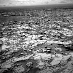 Nasa's Mars rover Curiosity acquired this image using its Left Navigation Camera on Sol 1174, at drive 1090, site number 51