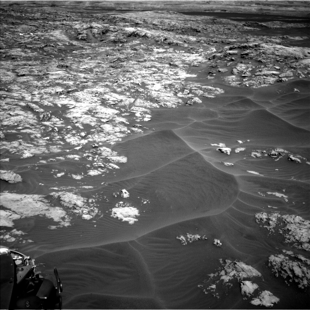 Nasa's Mars rover Curiosity acquired this image using its Left Navigation Camera on Sol 1174, at drive 1102, site number 51