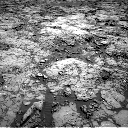 Nasa's Mars rover Curiosity acquired this image using its Right Navigation Camera on Sol 1174, at drive 874, site number 51