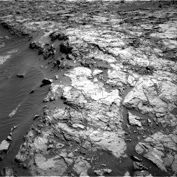 Nasa's Mars rover Curiosity acquired this image using its Right Navigation Camera on Sol 1174, at drive 886, site number 51