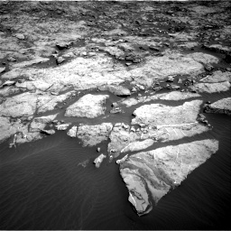 Nasa's Mars rover Curiosity acquired this image using its Right Navigation Camera on Sol 1174, at drive 892, site number 51