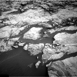 Nasa's Mars rover Curiosity acquired this image using its Right Navigation Camera on Sol 1174, at drive 904, site number 51