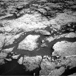 Nasa's Mars rover Curiosity acquired this image using its Right Navigation Camera on Sol 1174, at drive 910, site number 51