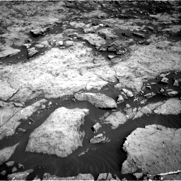 Nasa's Mars rover Curiosity acquired this image using its Right Navigation Camera on Sol 1174, at drive 916, site number 51