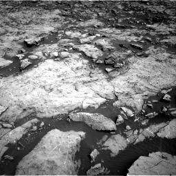 Nasa's Mars rover Curiosity acquired this image using its Right Navigation Camera on Sol 1174, at drive 922, site number 51