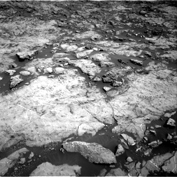 Nasa's Mars rover Curiosity acquired this image using its Right Navigation Camera on Sol 1174, at drive 928, site number 51