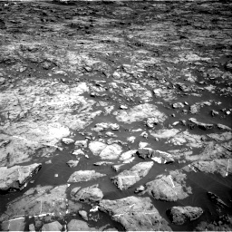Nasa's Mars rover Curiosity acquired this image using its Right Navigation Camera on Sol 1174, at drive 940, site number 51