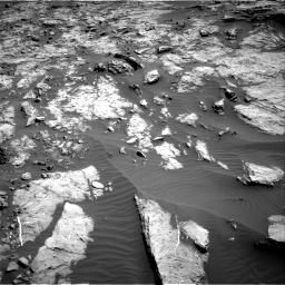 Nasa's Mars rover Curiosity acquired this image using its Right Navigation Camera on Sol 1174, at drive 952, site number 51