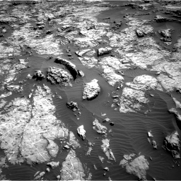 Nasa's Mars rover Curiosity acquired this image using its Right Navigation Camera on Sol 1174, at drive 970, site number 51