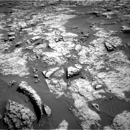 Nasa's Mars rover Curiosity acquired this image using its Right Navigation Camera on Sol 1174, at drive 982, site number 51