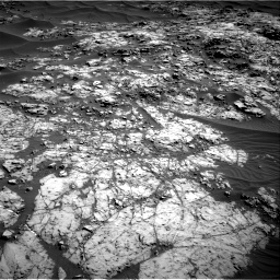 NASA's Mars rover Curiosity acquired this image using its Right Navigation Cameras (Navcams) on Sol 1174