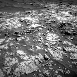 Nasa's Mars rover Curiosity acquired this image using its Right Navigation Camera on Sol 1174, at drive 1042, site number 51