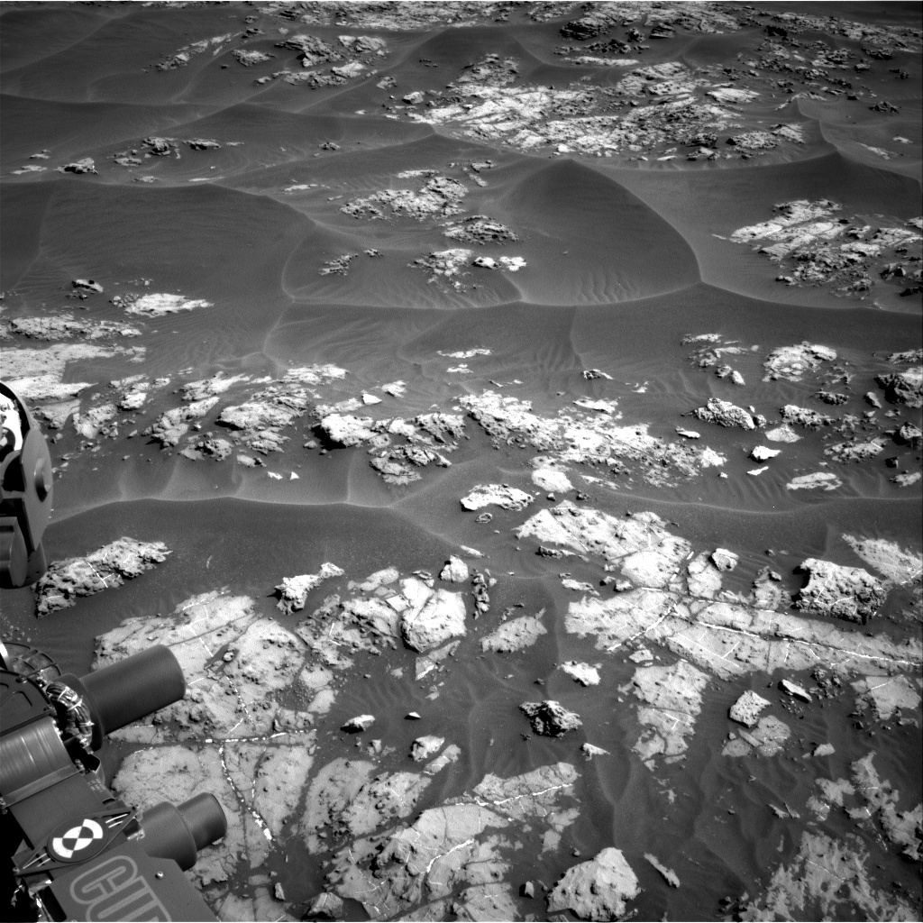 Nasa's Mars rover Curiosity acquired this image using its Right Navigation Camera on Sol 1174, at drive 1048, site number 51