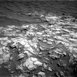 Nasa's Mars rover Curiosity acquired this image using its Right Navigation Camera on Sol 1174, at drive 1060, site number 51
