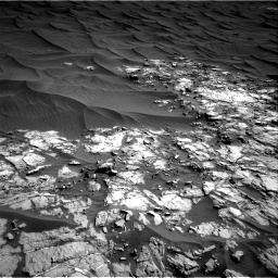 Nasa's Mars rover Curiosity acquired this image using its Right Navigation Camera on Sol 1174, at drive 1072, site number 51