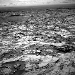 Nasa's Mars rover Curiosity acquired this image using its Right Navigation Camera on Sol 1174, at drive 1090, site number 51