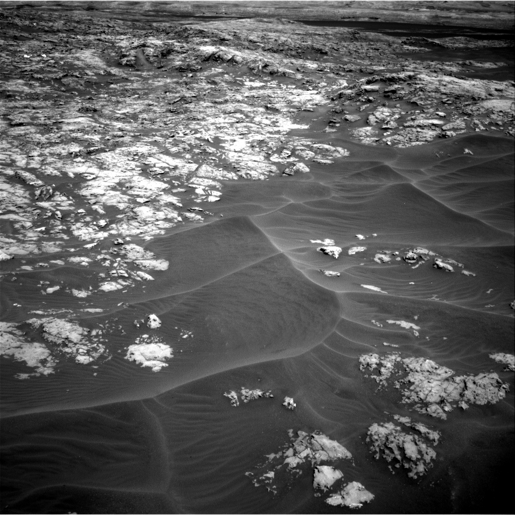 Nasa's Mars rover Curiosity acquired this image using its Right Navigation Camera on Sol 1174, at drive 1102, site number 51