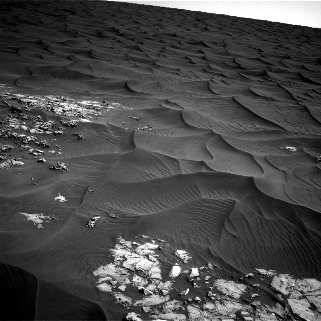 Sol 1174 Navcam of dune