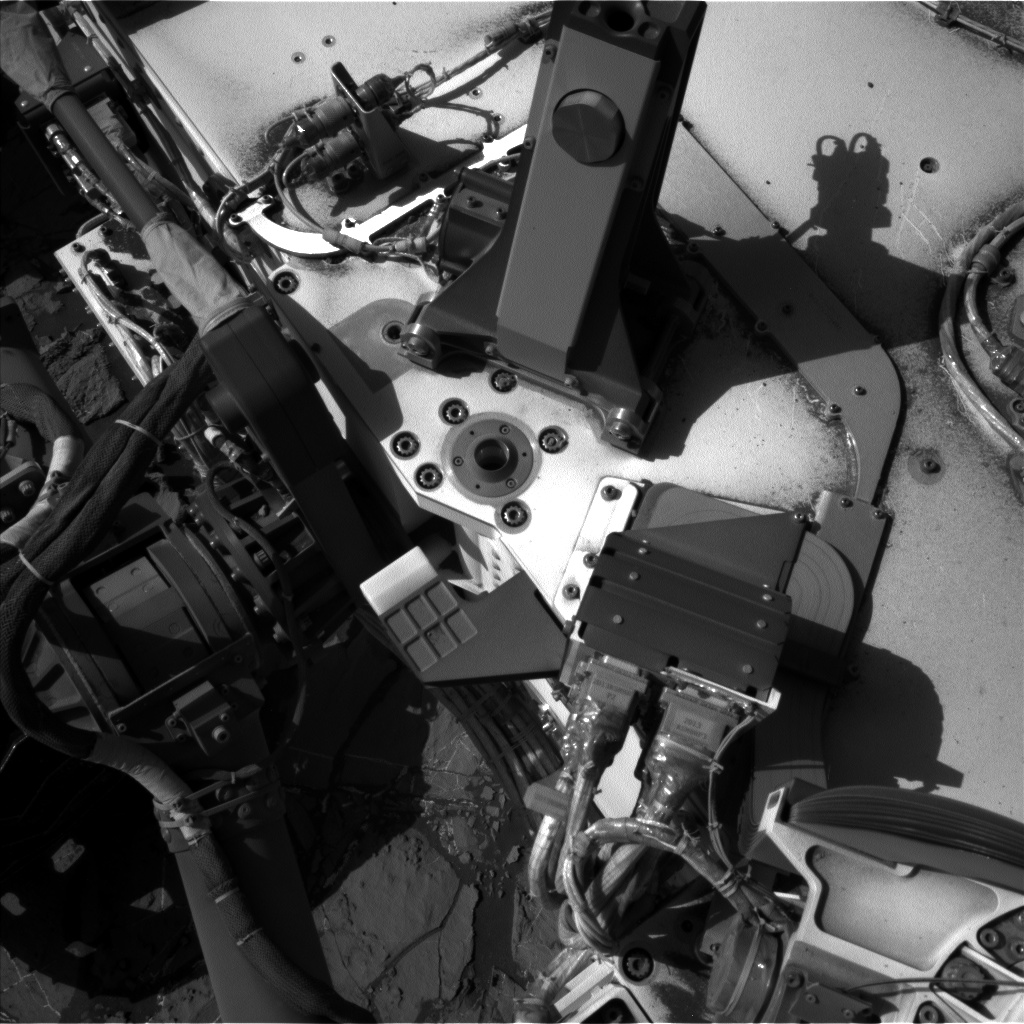 Nasa's Mars rover Curiosity acquired this image using its Left Navigation Camera on Sol 1178, at drive 1102, site number 51