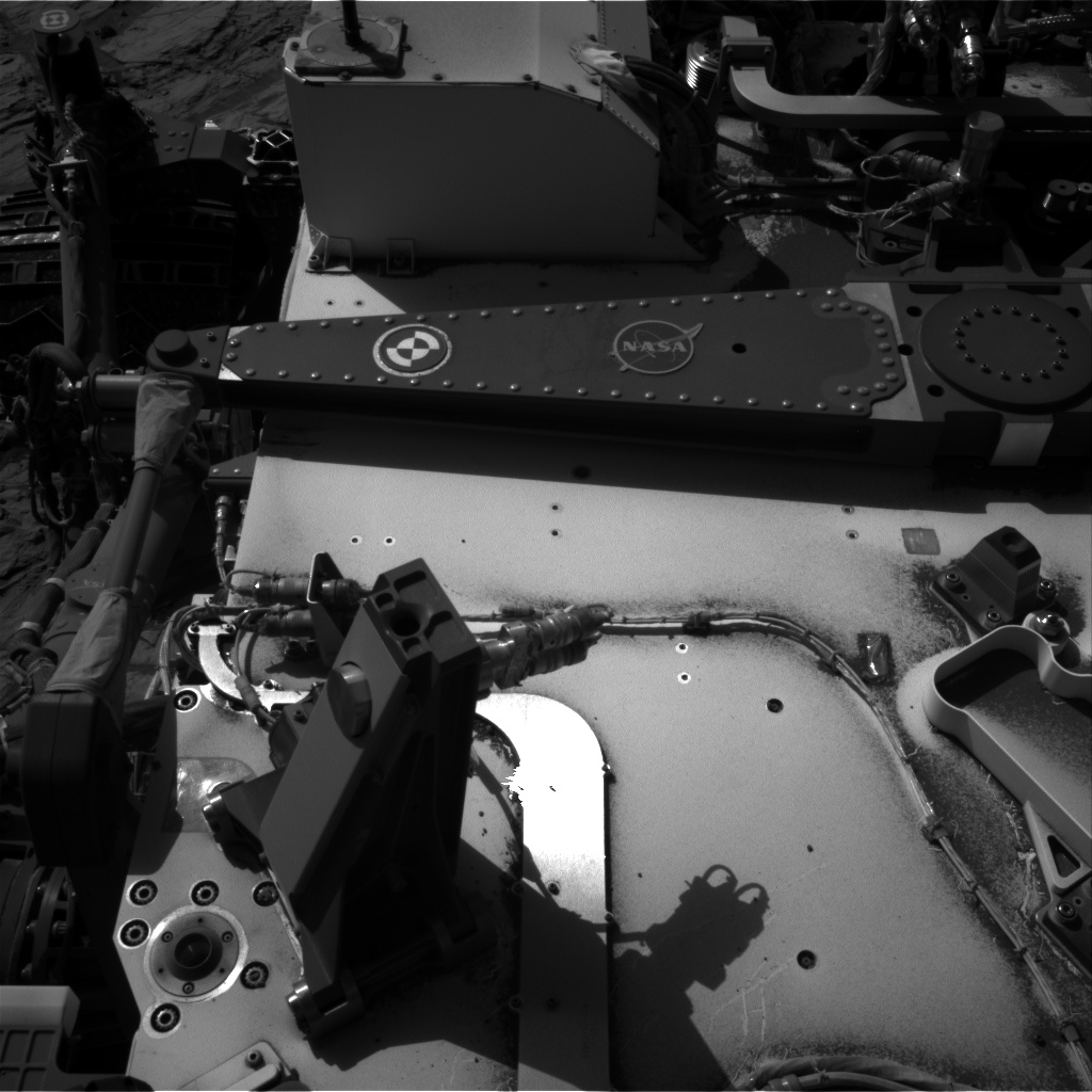 Nasa's Mars rover Curiosity acquired this image using its Right Navigation Camera on Sol 1178, at drive 1102, site number 51
