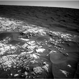 NASA's Mars rover Curiosity acquired this image using its Right Navigation Cameras (Navcams) on Sol 1179