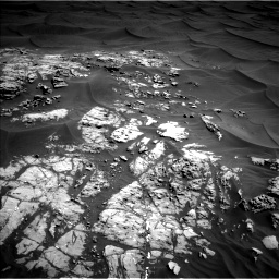 Nasa's Mars rover Curiosity acquired this image using its Left Navigation Camera on Sol 1181, at drive 1174, site number 51