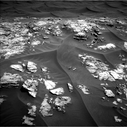 Nasa's Mars rover Curiosity acquired this image using its Left Navigation Camera on Sol 1181, at drive 1228, site number 51