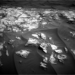 Nasa's Mars rover Curiosity acquired this image using its Left Navigation Camera on Sol 1181, at drive 1282, site number 51