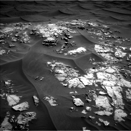 Nasa's Mars rover Curiosity acquired this image using its Left Navigation Camera on Sol 1181, at drive 1294, site number 51