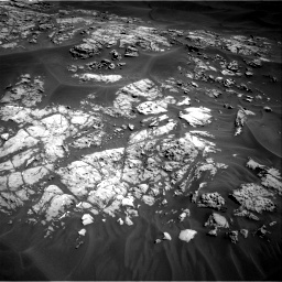 Nasa's Mars rover Curiosity acquired this image using its Right Navigation Camera on Sol 1181, at drive 1156, site number 51