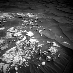 Nasa's Mars rover Curiosity acquired this image using its Right Navigation Camera on Sol 1181, at drive 1168, site number 51