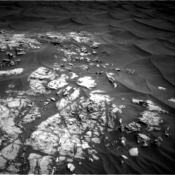 Nasa's Mars rover Curiosity acquired this image using its Right Navigation Camera on Sol 1181, at drive 1174, site number 51