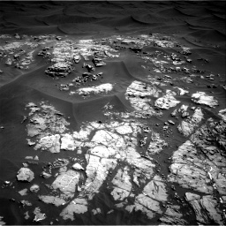 Nasa's Mars rover Curiosity acquired this image using its Right Navigation Camera on Sol 1181, at drive 1192, site number 51
