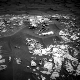 Nasa's Mars rover Curiosity acquired this image using its Right Navigation Camera on Sol 1181, at drive 1204, site number 51