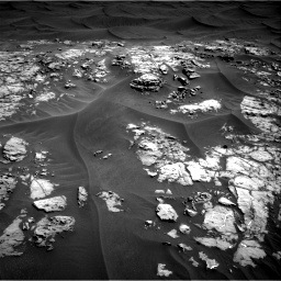 Nasa's Mars rover Curiosity acquired this image using its Right Navigation Camera on Sol 1181, at drive 1210, site number 51
