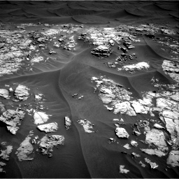 Nasa's Mars rover Curiosity acquired this image using its Right Navigation Camera on Sol 1181, at drive 1216, site number 51
