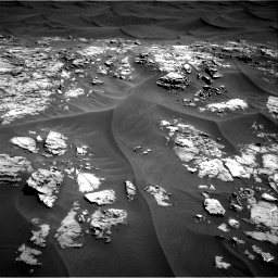 Nasa's Mars rover Curiosity acquired this image using its Right Navigation Camera on Sol 1181, at drive 1222, site number 51