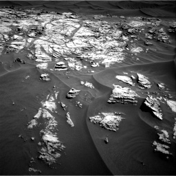 Nasa's Mars rover Curiosity acquired this image using its Right Navigation Camera on Sol 1181, at drive 1264, site number 51