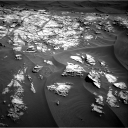 Nasa's Mars rover Curiosity acquired this image using its Right Navigation Camera on Sol 1181, at drive 1270, site number 51