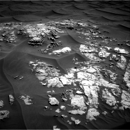 Nasa's Mars rover Curiosity acquired this image using its Right Navigation Camera on Sol 1181, at drive 1294, site number 51